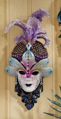 Venetian Wall Mask 2