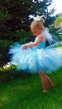 Periwinkle Tutu Costume Dress