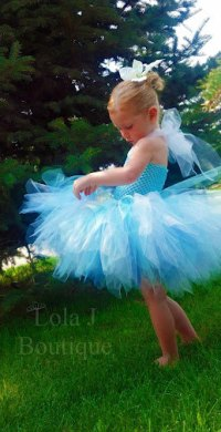 Periwinkle Tutu Costume Dress