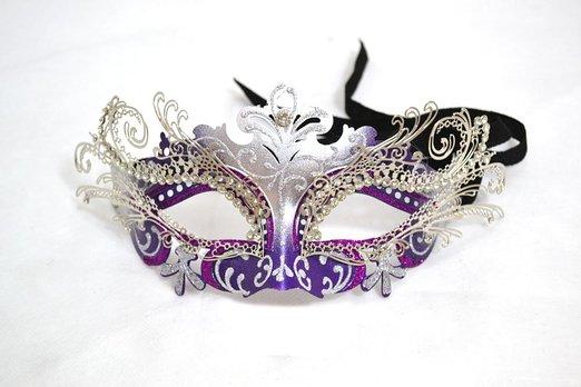 Venetian Filigree Mask