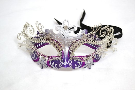 Venetian Filigree Mask