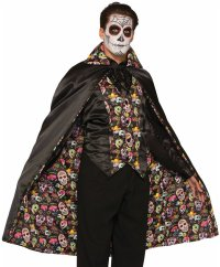 Day of the Dead Cape Costume