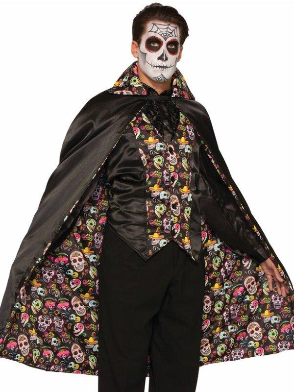Day of the Dead Cape Costume