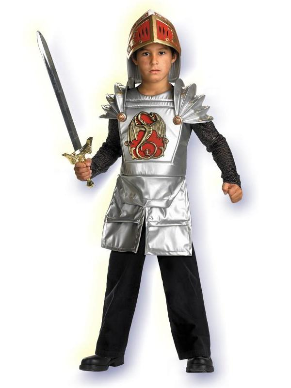Knight of the Dragon Boy Costume