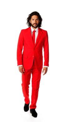 """alt=""""red suit devil party costume"""""""