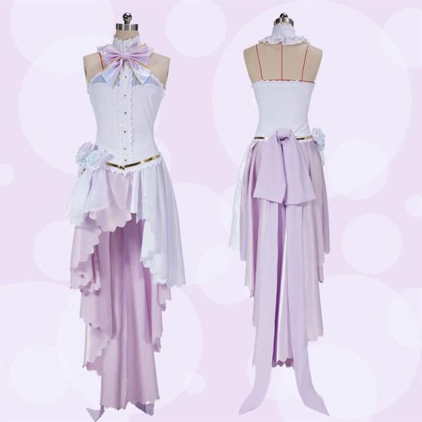 """alt=""""Nozomi Tojo White Valentine's Dress Cosplay Costume"""