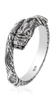 "alt=""lord of the rings dragon ring"""
