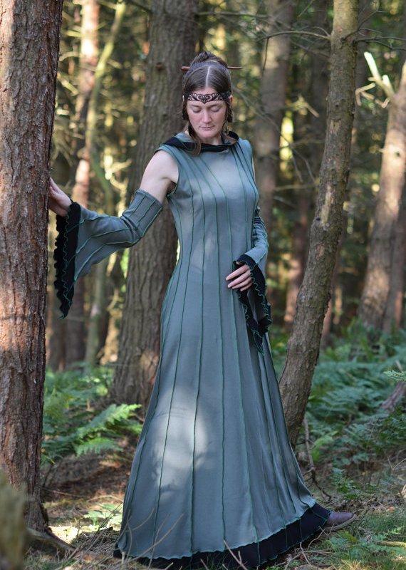 "alt=""forest druid dress"""