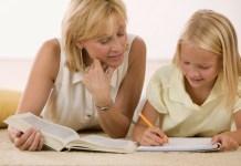 cara mengajari anak menulis