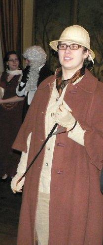 Aurore alias Eltona Shake Exploratrice Sherlock d'or Février 2009