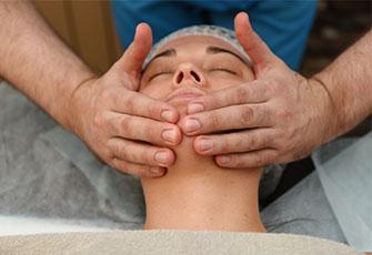 массаж лица фото процедуры