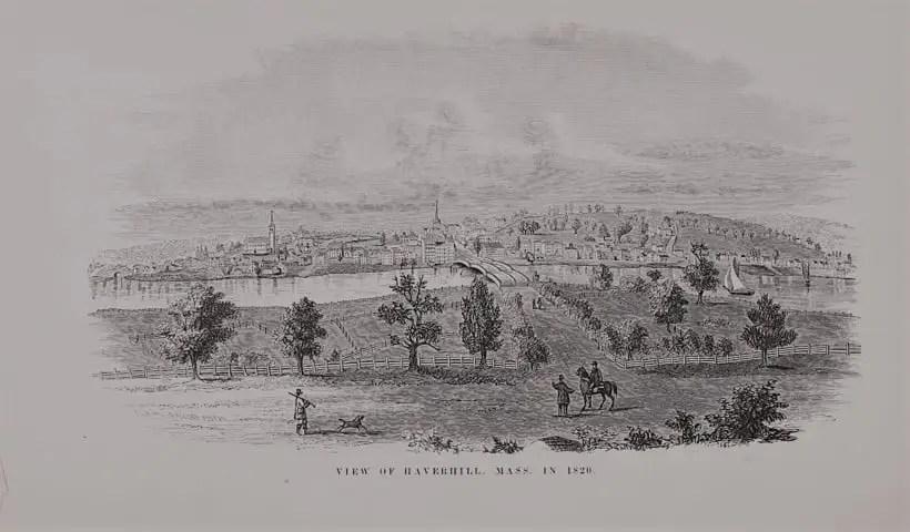 Origin of the Town of Haverhill, Massachusetts
