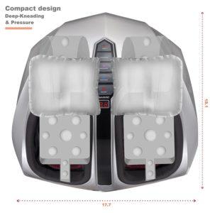 Belmint Shiatsu Foot Massager compact design