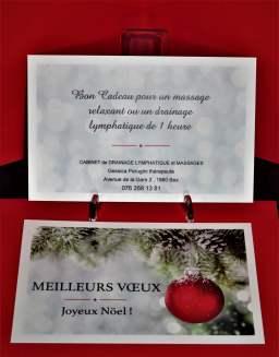 Bon cadeau noel Noël cheque cadeau