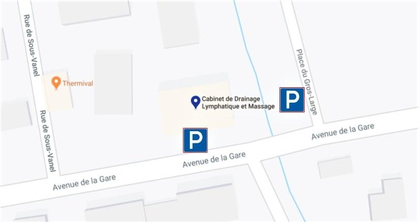 Free parking vouvry