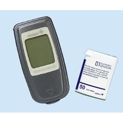 Máy đo đường huyết cá nhân Glucocard 01