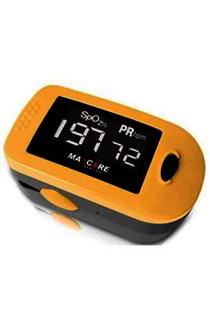 Máy đo độ bão hòa oxy và nhịp tim Maxcare