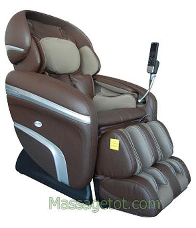 Ghế matxa có thể massage nhiều vùng trên cơ thể