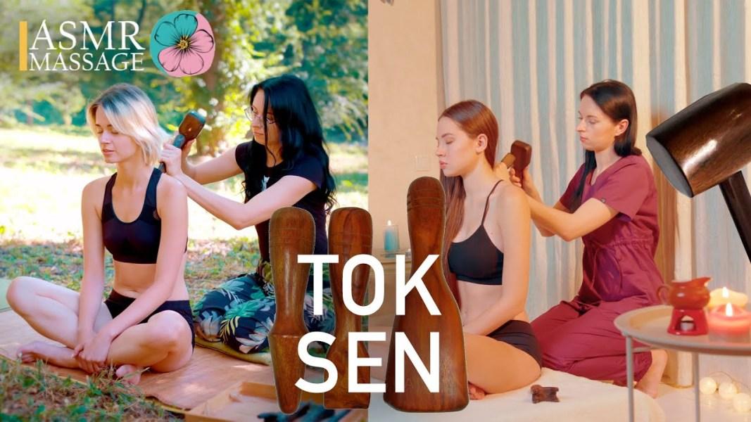ASMR TOK SEN MASSAGE COMPILATION | NO TALKING 4k video