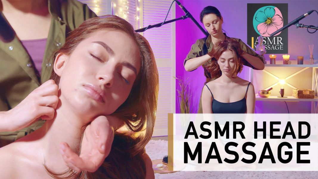 Head scalp massage asmr no talking   BEST ASMR MASSAGE FUN