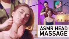 Head scalp massage asmr no talking | BEST ASMR MASSAGE FUN