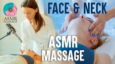 ASMR Relaxing Face Massage with tingle sounds [spa] by Adel
