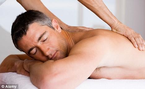 Massagem prostatica