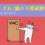 尿路結石とF.L.U.T.D.(猫の下部尿路疾患)用キャットフードについて