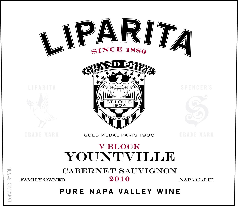 Liparita Napa Valley Cabernet Sauvignon Yountville V Block