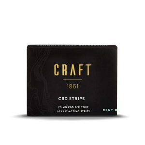 Sublingual CBD Strips 200mg | Craft 1861