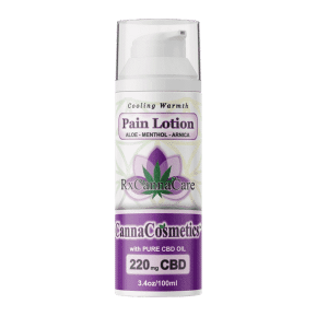 Infused CBD Pain Lotion 220mg | RxCannaCare