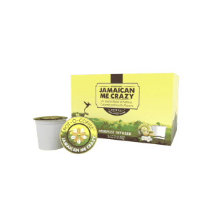Jamaican Me Crazy CBD K-Cups | Pot-O-Coffee