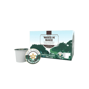 Wake N Bake CBD K-Cups | Pot-O-Coffee