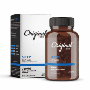 Sleep CBD Capsules 750mg | Original Hemp