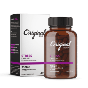 Stress CBD Capsules 750mg | Original Hemp
