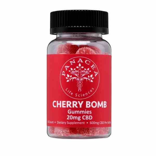 Panacea Life Sciences Cherry Bomb CBD Gummies