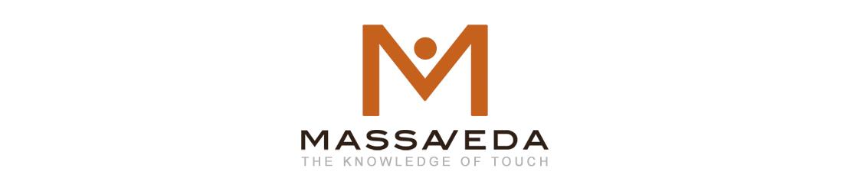 Massaveda medical massage therapy logo.
