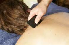 Gua Sha relieves various types of issues.
