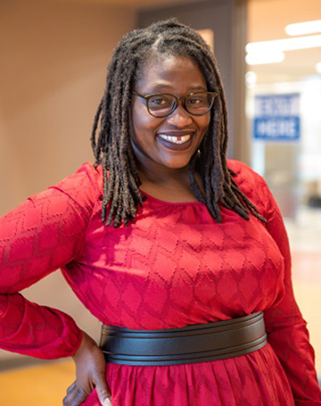 Merlicia Miles, Roxbury Community College Student