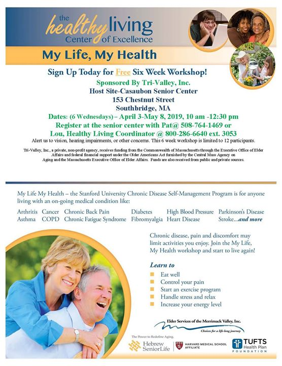 My Life, My Health | MassCentral