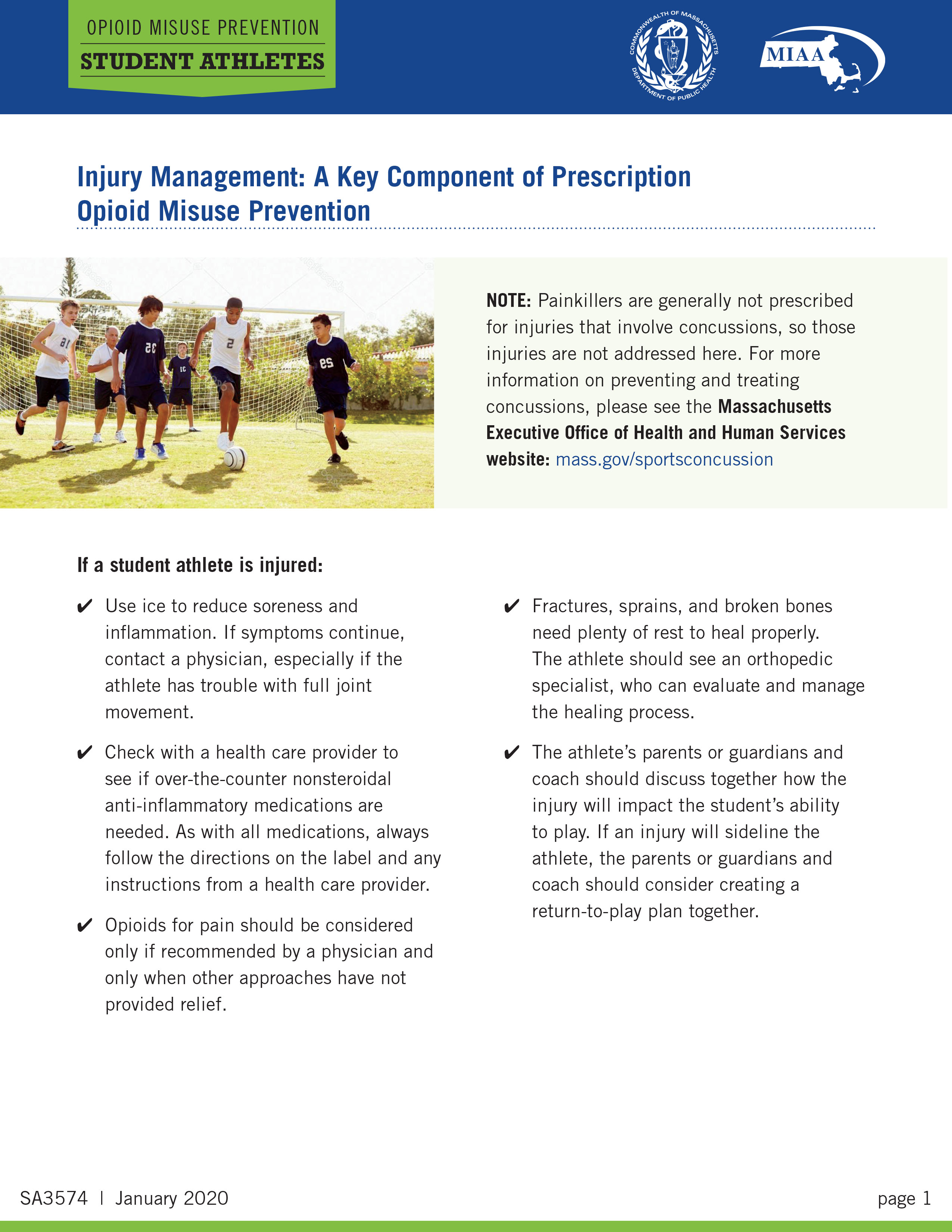 Injury Management A Key Component Of Prescription Opioid