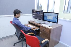 Editing suites & Graphic stations