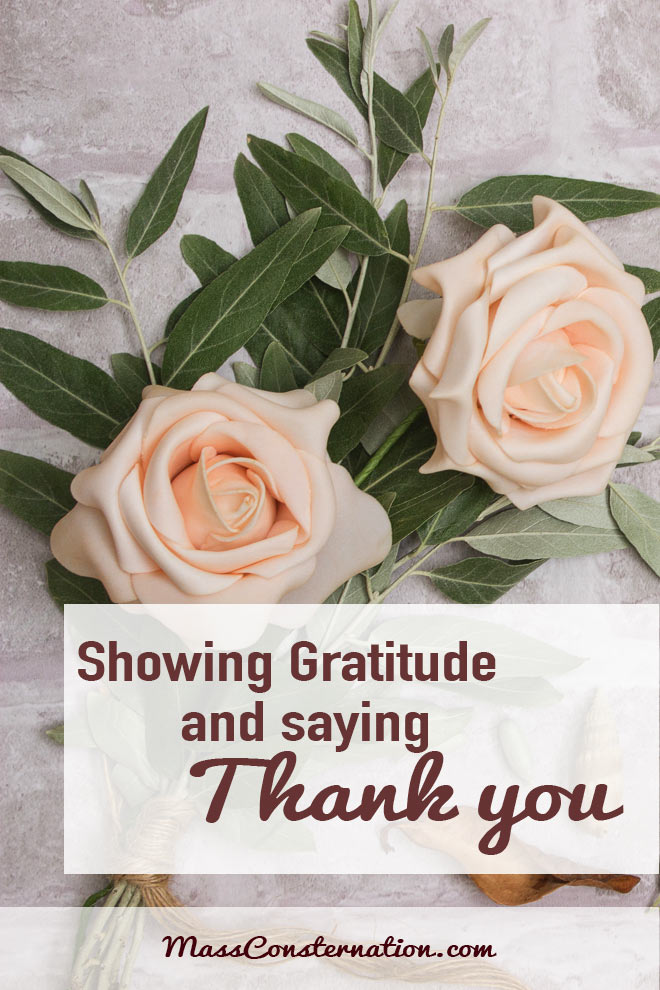 How often do you say thank you, and really mean it?