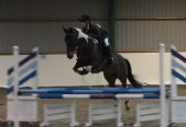 Tabby  & Barney competing at Brook Farm