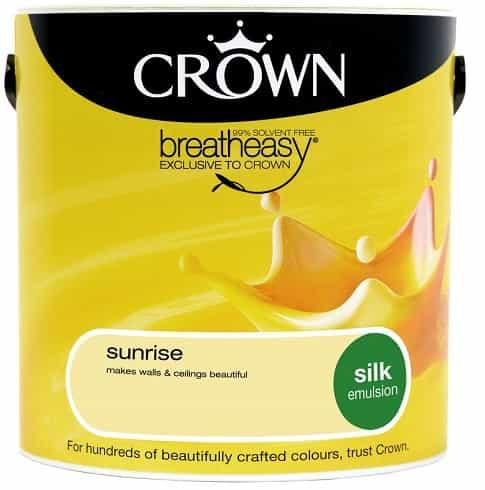 Crown Paint Silk Emulsion 25L Full Range Masseys