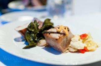Ceres Bistro's Sweet Sour and Salty Tuna & Smokey Brined Pork Tenderloin