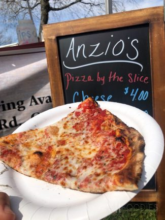 Cheese Pizza from Anzio's Brick Oven Pizza