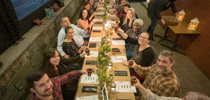 Brian Treitman + Bill Nemeroff: Out Of The Pit Wormtown Beer Dinner
