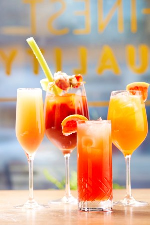 Brunch Libations from the brunch menu at Cal Mare at MGM Springfield (submitted)