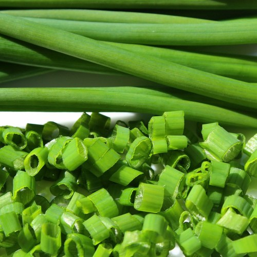 chive, young cabbage, spring